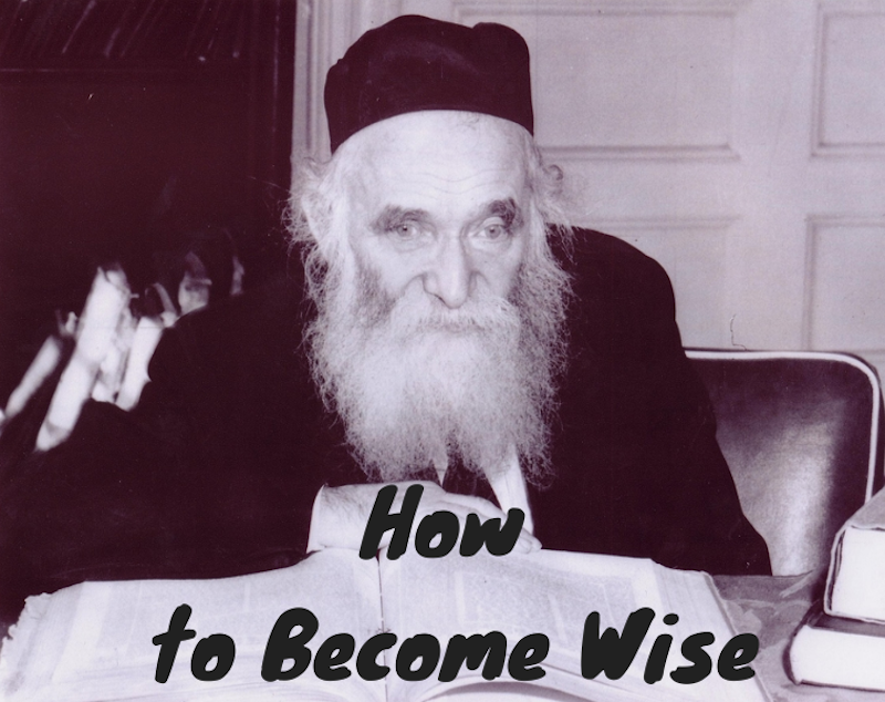 016-How to Become Wise - Shavous