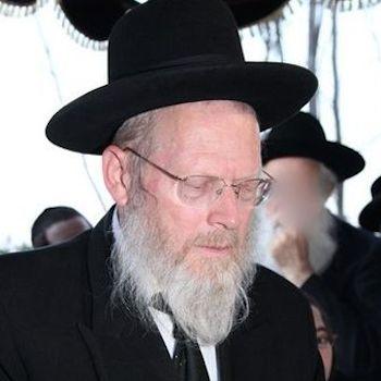 Rav Israel Ganz - Rosh Yeshiva Kol Torah