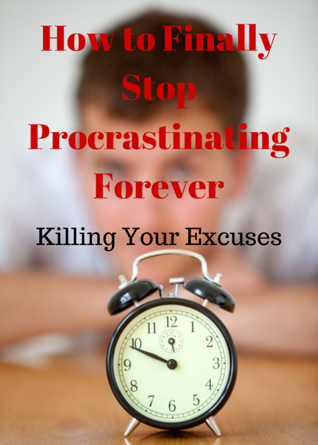How to Finally Stop Procrastinating