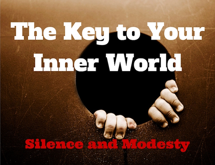 096 The Key to Your Inner World – Silence and Modesty