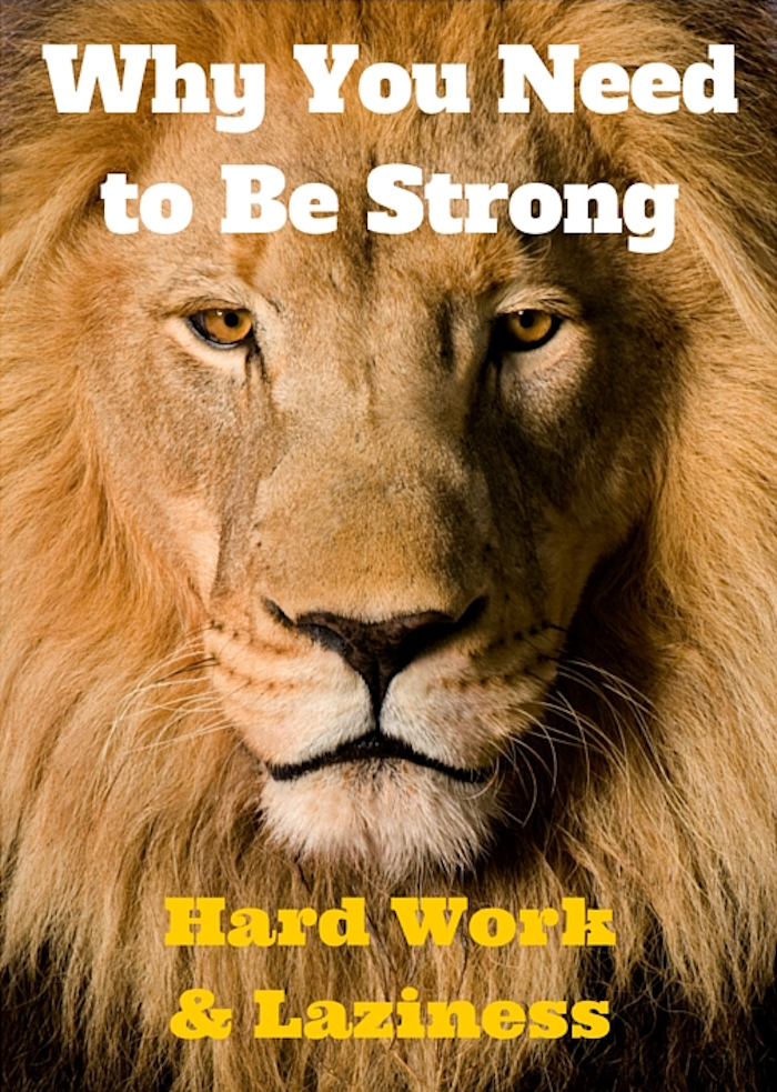 099 Torah Portion of the Week – Emor – Why You Need to Be Strong - Hard Work and Laziness